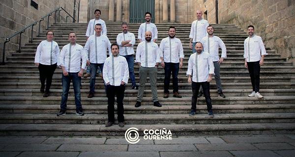 """Photo of Anxo Trives, do Restaurante La Viuda, membro da nova asociación """"Cociña Ourense"""""""