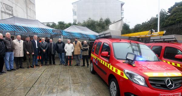 Photo of Quiroga, entre os cinco concellos lucenses que reciben material e equipamento de emerxencias