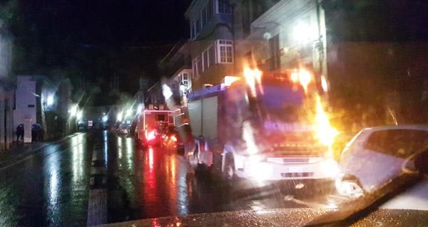 Photo of Incendio nunha vivenda no casco urbano de Trives