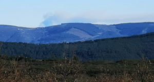Extinguido o incendio forestal de Ramilo (Viana do Bolo)