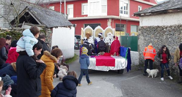 Photo of Melchor, Gaspar e Baltasar, na vila de Manzaneda
