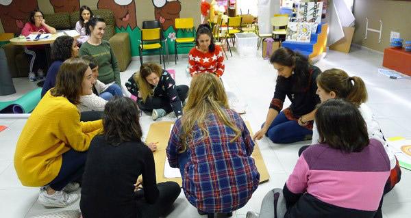 Photo of Taller vivencial sobre linguaxe Montessori, no Barco