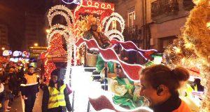 Espectacular cabalgata de Reis en Ourense