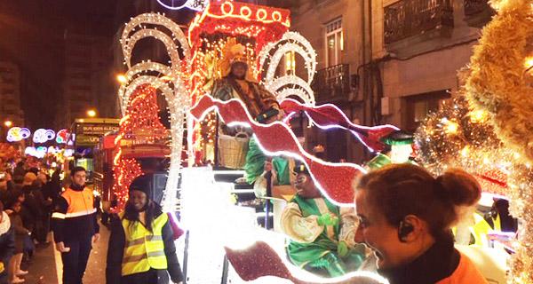 Photo of Espectacular cabalgata de Reis en Ourense