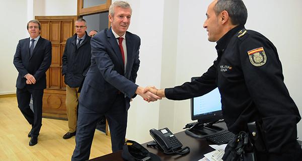Photo of Inaugúrase a nova sede da comisaría da Policía Autonómica en Ourense