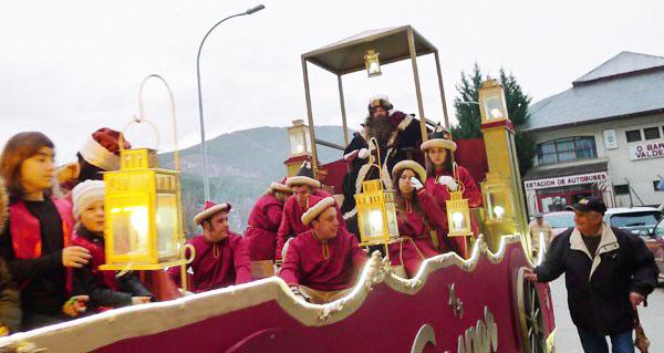 Photo of Os Reis Magos chegarán á estación de autobuses do Barco ás cinco desta tarde