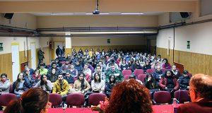 O alcalde do Barco inaugura a XVII Semana de Educación-Empresa no IES Lauro Olmo