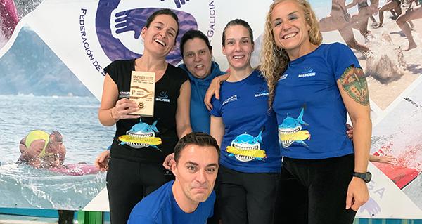 Photo of O Salvour revalida o título de campión galego na categoría máster de salvamento e socorrismo deportivo