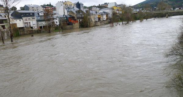 Photo of Activada a alerta por desbordamento no río Sil nun dos seus puntos no Barco