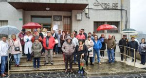 """A Rúa segue concentrándose """"en defensa dunha Primaria digna"""""""