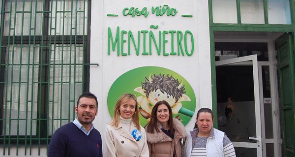 Photo of Visita da conselleira de Política Social á Casa Niño da Veiga
