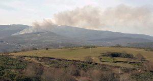 Un incendio queima 22,83 hectáreas en Cernado (Manzaneda)