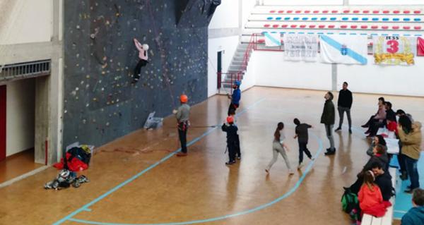 Photo of Curso de iniciación á escalada, o 16 de febreiro no Barco de Valdeorras