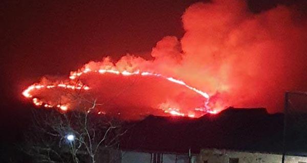 Photo of Noite de incendio en Palleirós (Manzaneda)