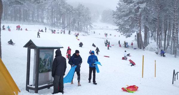 Photo of Fin de semana de esquí na estación de montaña de Manzaneda