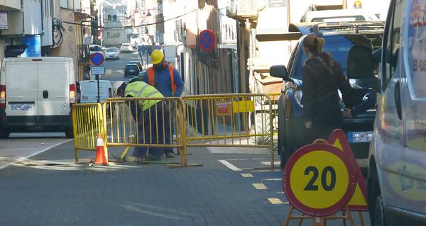 Photo of Precaución ao circular polo casco antigo do Barco debido a unhas obras