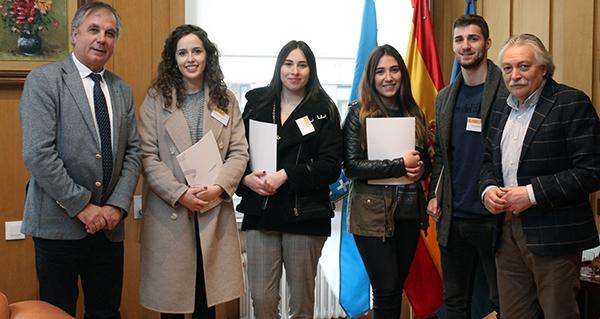 Photo of Catro estudantes de Dereito comezan as súas prácticas na Subdelegación do Goberno en Ourense