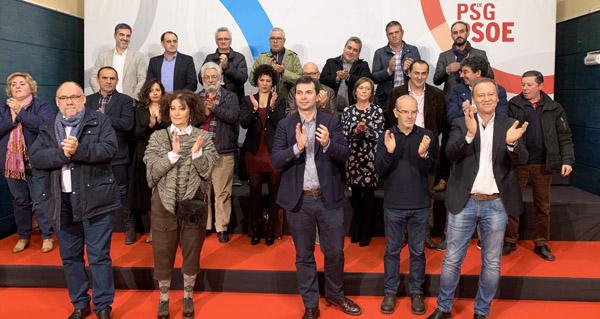Photo of Acto de presentación dos candidatos socialistas ás municipais na comarca de Ourense