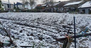Un manto de neve cubre Trives