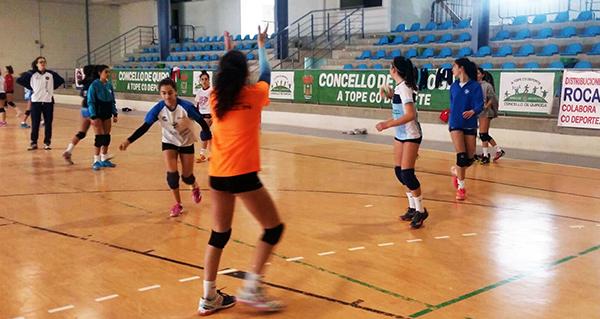Photo of III xornada de supervisión e control da Federación Galega de Voleibol, en Quiroga