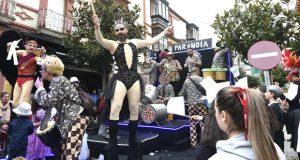 O desfile de Carnaval da Rúa en imaxes