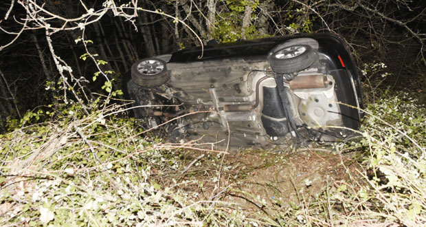 Photo of Accidente de tráfico con catro feridos na estrada de Alixo (O Barco)