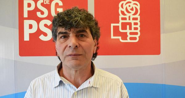 Photo of Albino Quinteiro, candidato socialista á alcaldía de San Xoán de Río