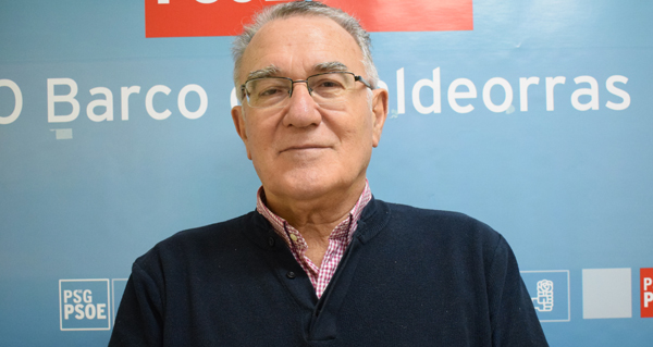 Photo of Alfredo García repite novamente como candidato socialista á alcaldía do Barco