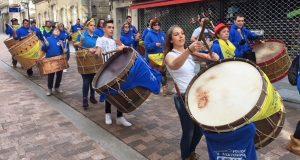Os Arrieiros de Petín e os folións de Fradelo e do Tameirón, na 25 Festa da Cachucha do Carballiño