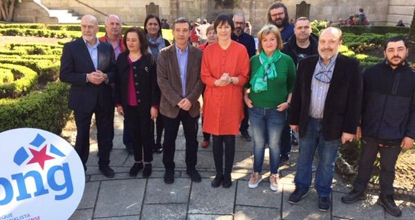 Photo of Ana Pontón presenta, xunto a Iago Tabarés, as candidaturas do BNG en Ourense ás eleccións xerais