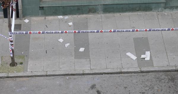 Photo of Precaución ao camiñar pola céntrica avenida Conde Fenosa do Barco