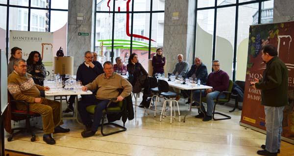 Photo of Finaliza o curso sobre viños doces organizado pola D.O. Monterrei
