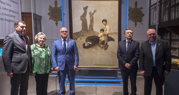 """Photo of Inaugúrase a mostra """"Castelao e Prada, irmaus!"""" en Ourense"""
