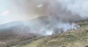 Incendio forestal en Fitoiro (Chandrexa de Queixa)