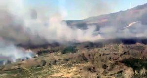 Extinguido o lume forestal de Fitoiro (Chandrexa de Queixa)