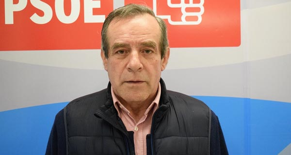 Photo of José Rodríguez, candidato socialista á alcaldía da Mezquita