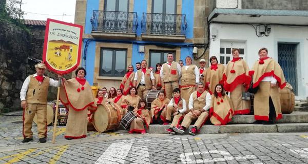 Photo of Os Labregos pechan o Entroido en Carril