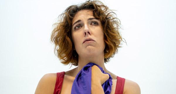 Photo of A actriz Lucía Álvarez, natural de Río, encarna a Mariana Pineda na súa última obra teatral