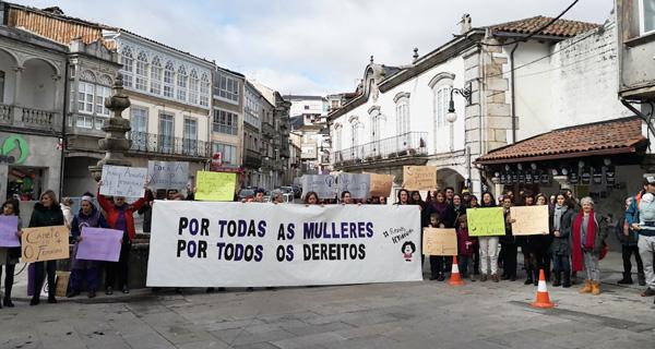 """Photo of Viana do Bolo concéntrase """"Por todas as mulleres, por todos os dereitos"""" no 8M"""