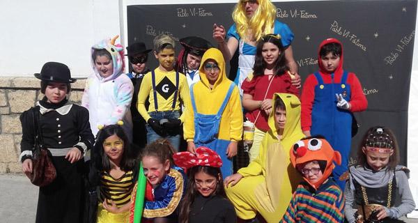 Photo of Festa de Carnaval no colexio Pablo VI-Fátima da Rúa