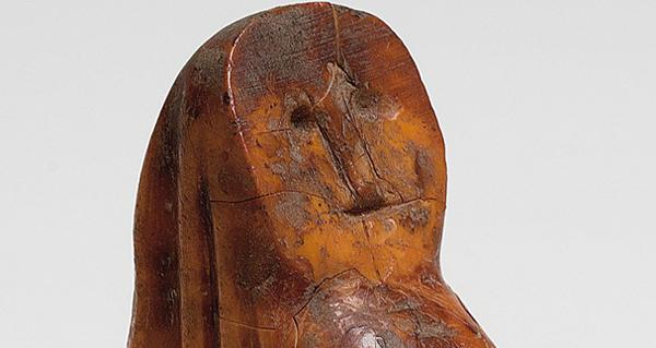 """Photo of Un singular obxecto medieval en marfil, """"Peza do mes"""" do Museo Arqueolóxico de Ourense"""