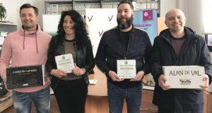 O I Concurso de Maridanza premia aos restaurantes barquenses Piquiño e Il Piacere