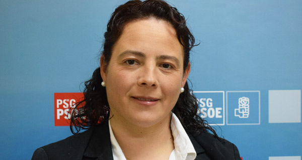 Photo of Raquel Méndez, candidata socialista á alcaldía en Rubiá