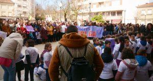 A celebración do 8 de marzo en Verín