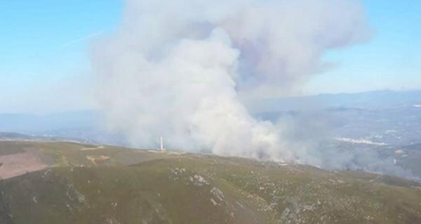 Photo of Extinguido o lume forestal de Sabuguido (Vilariño de Conso), tras queimar 85 has