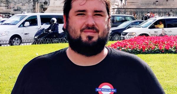 Photo of Xosé Miguel Pérez, candidato pola lista independente RIO á alcaldía de San Xoán de Río