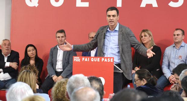 """Photo of Pedro Sánchez: """"Se algo precisa España é xustiza social, convivencia e rexeneración"""""""
