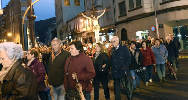 Photo of A procesión do Cristo dos Ferroviarios percorre O Barco