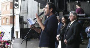 Multitudinario pregón do actor Pablo Chiapella na XXXVII Feira do Viño de Quiroga