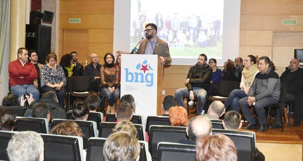 """Photo of Diego Lourenzo: """"Esta candidatura está aquí para loitar por un proxecto colectivo"""""""